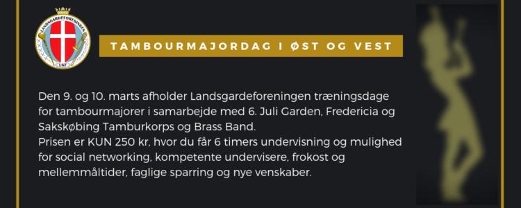 Tambourmajordag i ØST og VEST