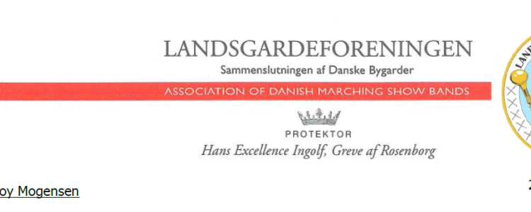 Landsgardeforeningens appel til Kulturministeren
